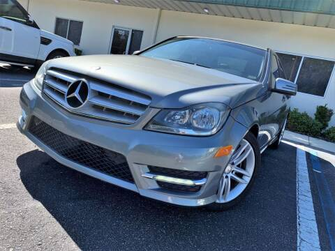 2013 Mercedes-Benz C-Class for sale at Fisher Motor Group LLC in Bradenton FL