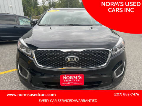 2016 Kia Sorento for sale at NORM'S USED CARS INC in Wiscasset ME