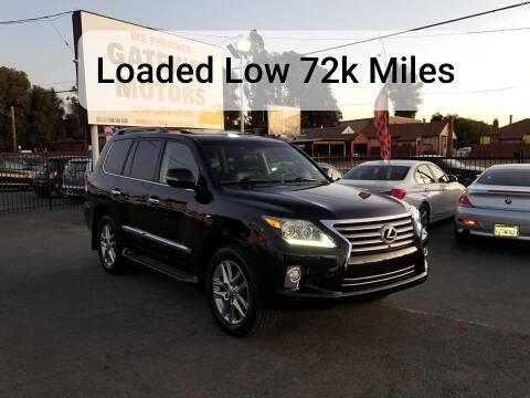 2013 Lexus LX 570 for sale at Gateway Motors in Hayward CA