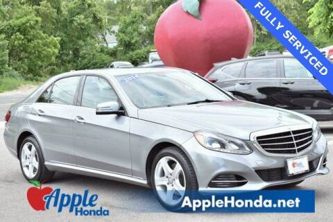 2014 Mercedes-Benz E-Class for sale at APPLE HONDA in Riverhead NY
