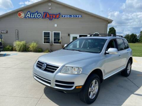 2004 Volkswagen Touareg for sale at The Auto Depot in Mount Morris MI
