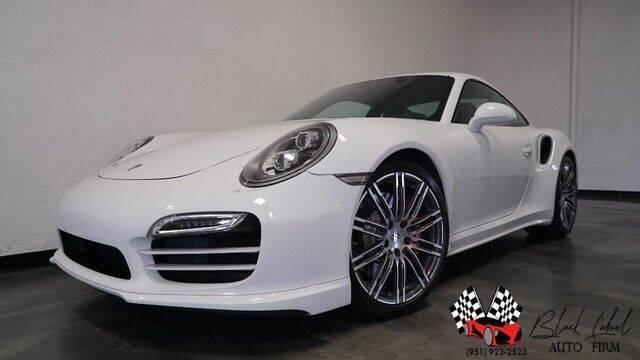 2014 Porsche 911 for sale at BLACK LABEL AUTO FIRM in Riverside CA