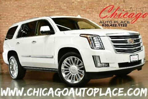 2016 Cadillac Escalade for sale at Chicago Auto Place in Bensenville IL