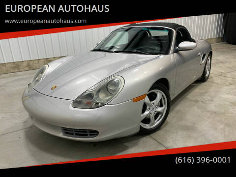2002 Porsche Boxster for sale at EUROPEAN AUTOHAUS in Holland MI