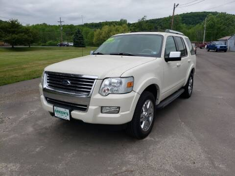 2009 Ford Explorer for sale at Greens Auto Mart Inc. in Wysox PA