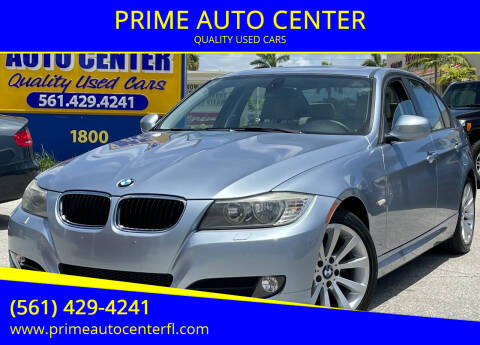 2011 BMW 3 Series for sale at PRIME AUTO CENTER in Palm Springs FL