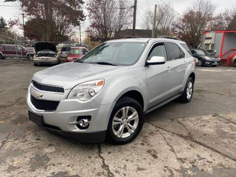 2012 Chevrolet Equinox for sale at Blue Line Auto Group in Portland OR