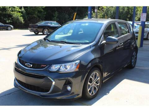 2018 Chevrolet Sonic for sale at Inline Auto Sales in Fuquay Varina NC