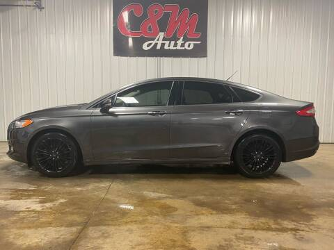 2016 Ford Fusion for sale at C&M Auto in Worthing SD