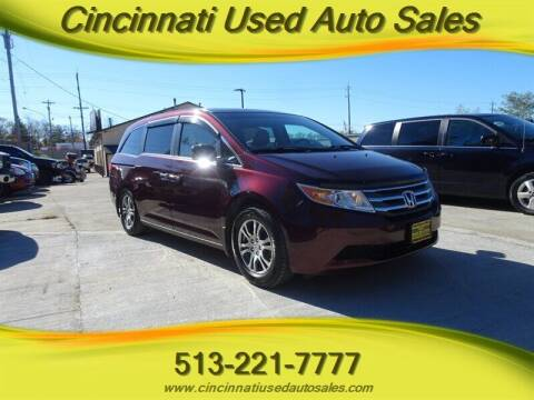 2012 Honda Odyssey for sale at Cincinnati Used Auto Sales in Cincinnati OH