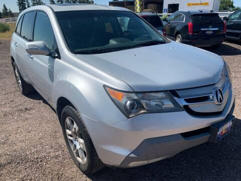 2009 Acura MDX for sale at Praylea's Auto Sales in Peyton CO