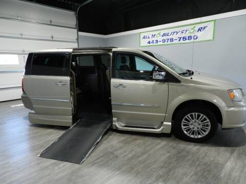 2015 Chrysler Town and Country for sale at ALL MOBILITY STORE in Delmar MD
