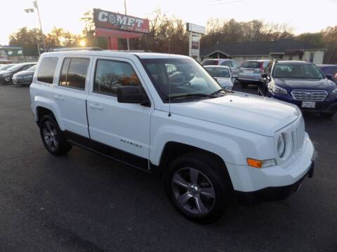 2017 Jeep Patriot for sale at Comet Auto Sales in Manchester NH