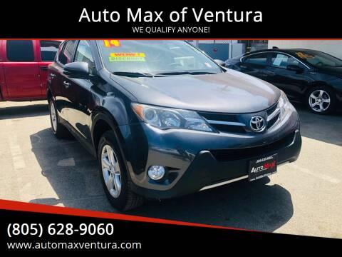2014 Toyota RAV4 for sale at Auto Max of Ventura in Ventura CA