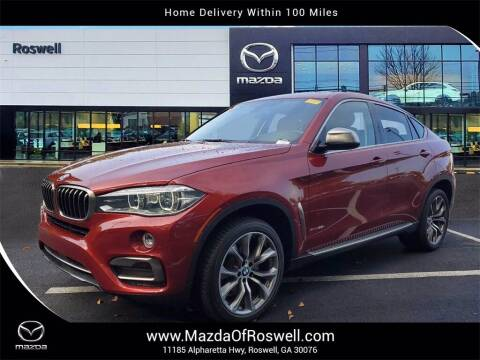 2015 BMW X6 for sale at Mazda Of Roswell in Roswell GA