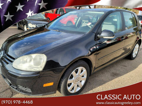 2007 Volkswagen Rabbit for sale at Classic Auto in Greeley CO