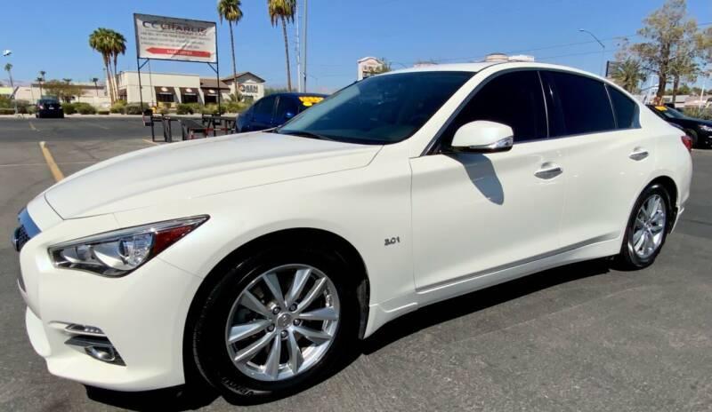 2017 Infiniti Q50 for sale at Charlie Cheap Car in Las Vegas NV