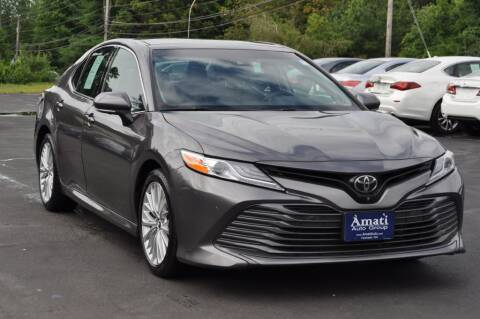 2018 Toyota Camry for sale at Amati Auto Group in Hooksett NH