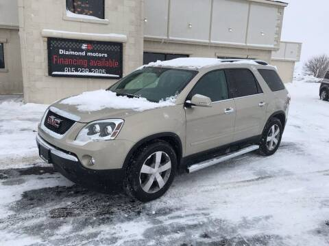 2009 GMC Acadia for sale at Diamond Motors in Pecatonica IL