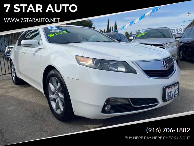 2012 Acura TL for sale at 7 STAR AUTO in Sacramento CA