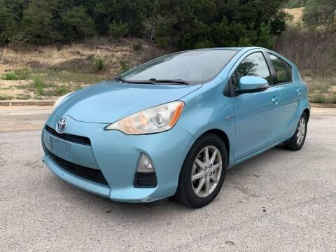 2012 Toyota Prius c for sale at John 3:16 Motors in San Antonio TX