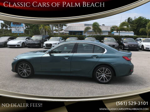 2020 BMW 3 Series for sale at Classic Cars of Palm Beach in Jupiter FL