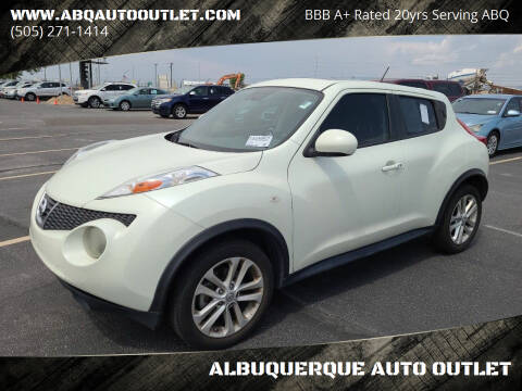 2011 Nissan JUKE for sale at ALBUQUERQUE AUTO OUTLET in Albuquerque NM