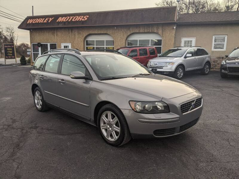 2006 Volvo V50 for sale at Worley Motors in Enola PA