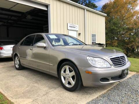 2004 Mercedes-Benz S-Class for sale at Robinson Automotive in Albermarle NC