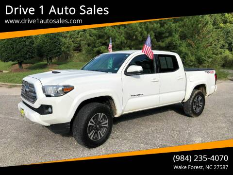 2016 Toyota Tacoma for sale at Drive 1 Auto Sales in Wake Forest NC