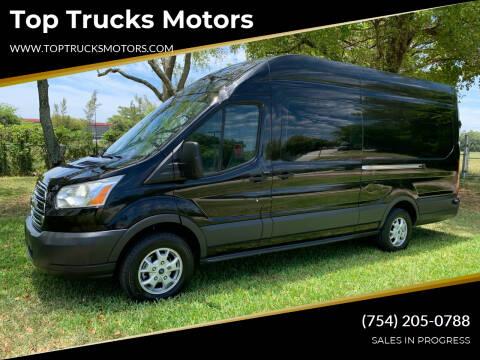 2016 Ford Transit Cargo for sale at Top Trucks Motors in Pompano Beach FL