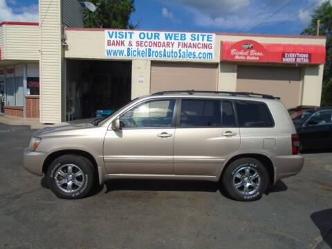 2005 Toyota Highlander for sale at Bickel Bros Auto Sales, Inc in Louisville KY