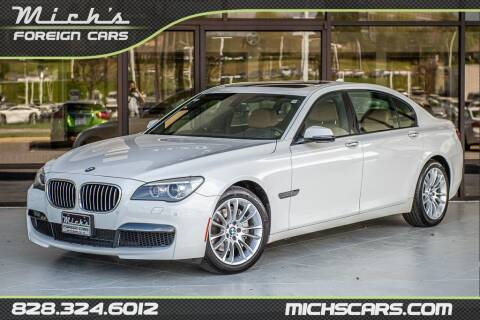 2014 BMW 7 Series for sale at Mich's Foreign Cars in Hickory NC