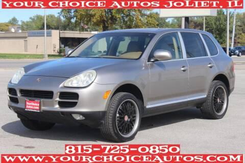 2004 Porsche Cayenne for sale at Your Choice Autos - Joliet in Joliet IL