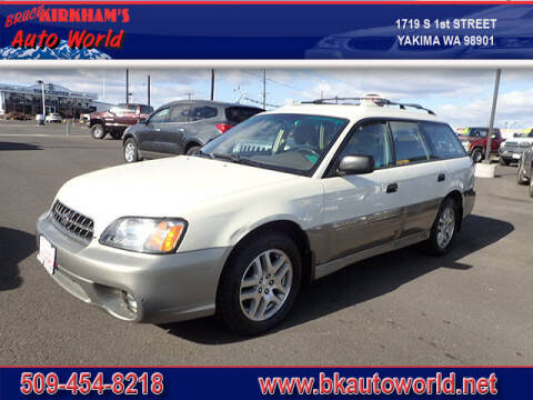 2003 Subaru Outback for sale at Bruce Kirkham Auto World in Yakima WA