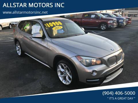 2013 BMW X1 for sale at ALLSTAR MOTORS INC in Middleburg FL