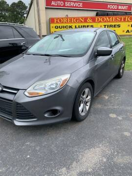 2014 Ford Focus for sale at BRYANT AUTO SALES in Bryant AR