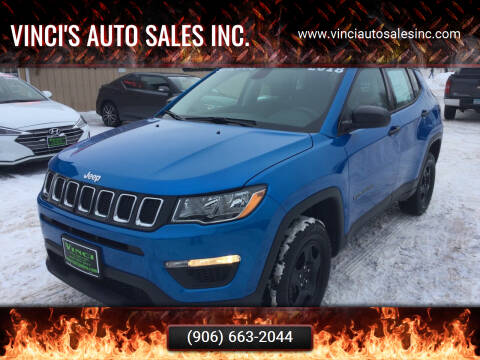 2018 Jeep Compass for sale at Vinci's Auto Sales Inc. in Bessemer MI