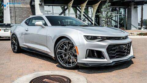 2018 Chevrolet Camaro for sale at MUSCLE MOTORS AUTO SALES INC in Reno NV