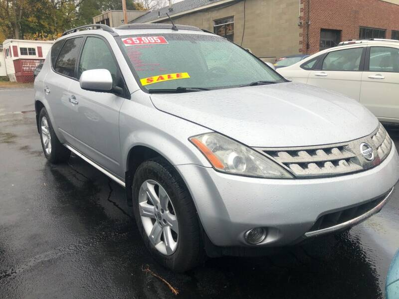 2007 Nissan Murano for sale at JB Auto Sales in Schenectady NY