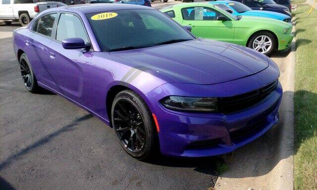 2018 Dodge Charger for sale at Jim Clark Auto World in Topeka KS