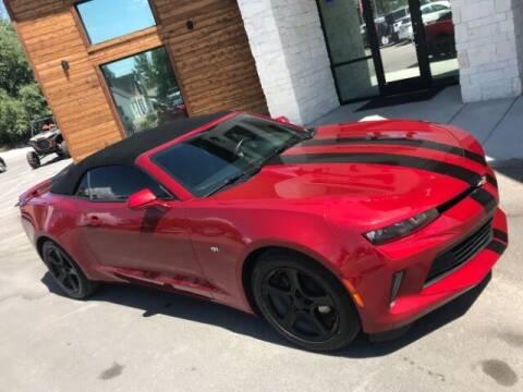 2017 Chevrolet Camaro for sale at Hamilton Motors in Lehi UT