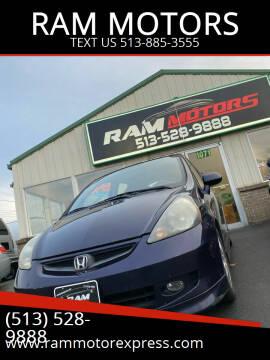 2008 Honda Fit for sale at RAM MOTORS in Cincinnati OH