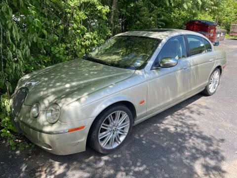 2008 Jaguar S-Type for sale at Trocci's Auto Sales in West Pittsburg PA