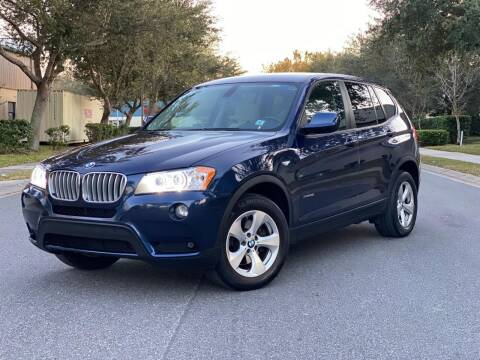2011 BMW X3 for sale at Presidents Cars LLC in Orlando FL