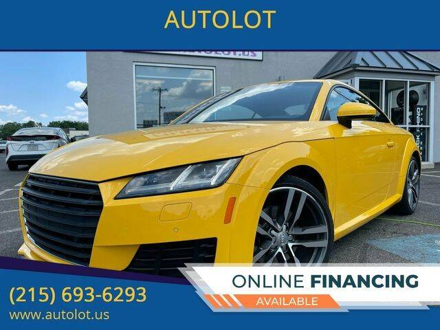 2016 Audi TT for sale at AUTOLOT in Bristol PA
