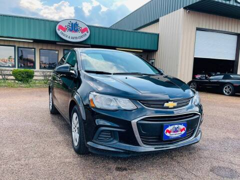 2017 Chevrolet Sonic for sale at JC Truck and Auto Center in Nacogdoches TX