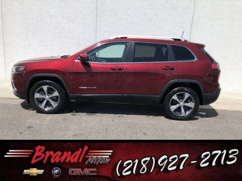 2019 Jeep Cherokee for sale at Brandl GM in Aitkin MN
