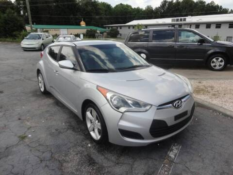 2012 Hyundai Veloster for sale at HAPPY TRAILS AUTO SALES LLC in Taylors SC