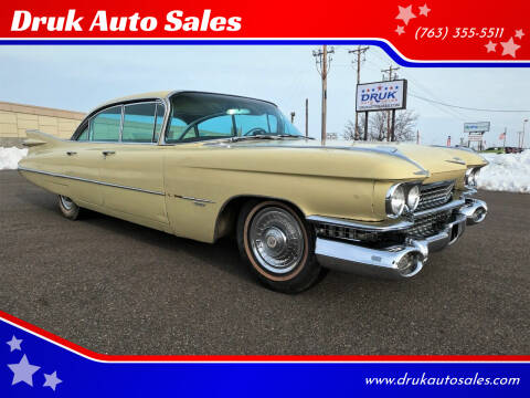 1959 Cadillac Series 62 for sale at Druk Auto Sales in Ramsey MN